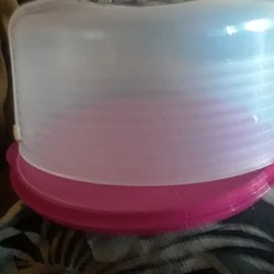 Tupperware Large Size Cake Plate